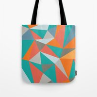 Summer Deconstructed Tote Bag