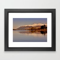 Derwentwater Lake District Framed Art Print