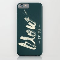 iPhone & iPod Case featuring Blow it up by Koning