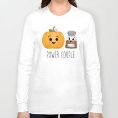Pumpkin + Spice = Power Couple Long Sleeve T-shirt