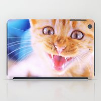 Angry Cat iPad Case