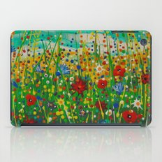 Flowers of happiness iPad Case