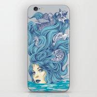 Ocean Queen iPhone & iPod Skin