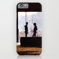 iPhone & iPod Case featuring Dialogue by Elina Cate