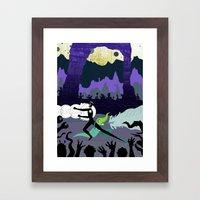 Power Couple Framed Art Print