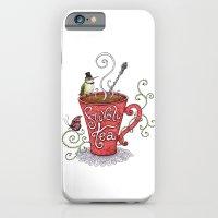 iPhone & iPod Case featuring Frivoli-Tea by Mariya Olshevska
