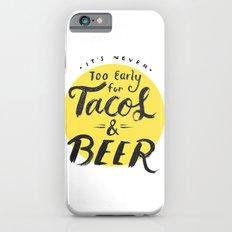 Tacos & Beer iPhone 6 Slim Case