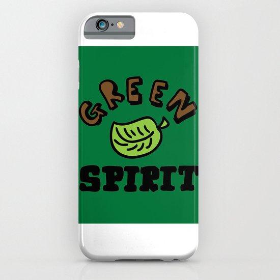 green spirit iPhone & iPod Case