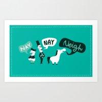 The Naysayers Art Print
