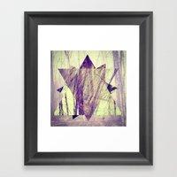 Branching. Framed Art Print