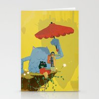 Matilda and Bouru - Melancholy Stationery Cards