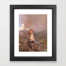 collage 19 Framed Art Print