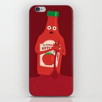 Fake Blood iPhone & iPod Skin