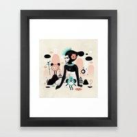 Kobana - Muxxi X Ruben Ireland Framed Art Print