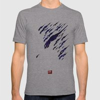 Mass Effect 3 (w/quote) Mens Fitted Tee Athletic Grey SMALL
