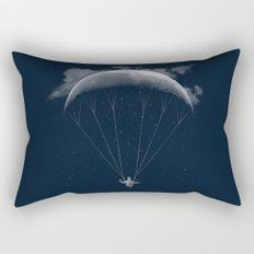 Parachute Moon Rectangular Pillow