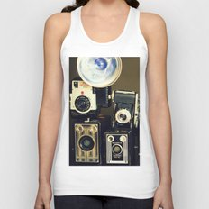 Vintage Camera Collection Unisex Tank Top