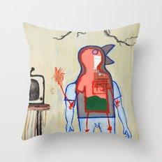 Terrestrial Fella Broadcasting Throw Pillow
