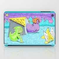 look Billie, a flying star ! iPad Case
