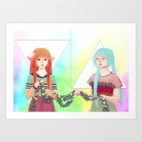 RO BO Art Print