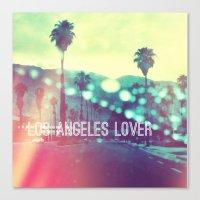 LA Lover Canvas Print