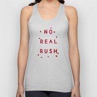 No Real Rush Unisex Tank Top