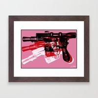 Blaster Framed Art Print