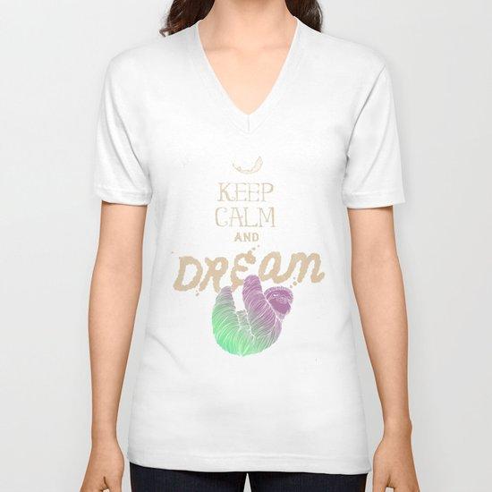 Keep Calm and Dream V-neck T-shirt