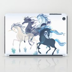 Running Unicorns iPad Case