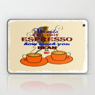 Words Can-not ESPRESSO .… Laptop & iPad Skin