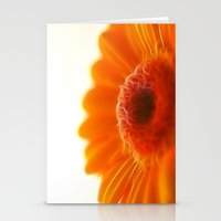 Orange Gerbera Stationery Cards
