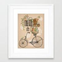 Pleasant Balance Framed Art Print