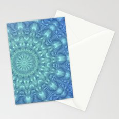 Crystalline Mandala   Stationery Cards