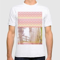 AZTEC 'Door Into Summer'… Mens Fitted Tee Ash Grey SMALL