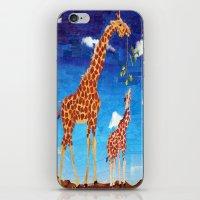 G is for Giraffe iPhone & iPod Skin