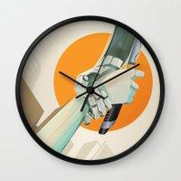 SERVITUDE Wall Clock