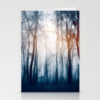 Morning Colours Stationery Cards
