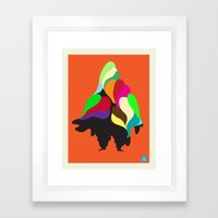 Holiday Mountain Suit Framed Art Print