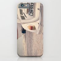 iPhone & iPod Case featuring Vintage Beetle by Gisele Morgan