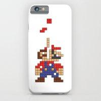 Super Mario Tetris iPhone 6 Slim Case