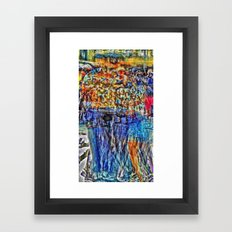 An other path to linger i.e. or heeding longer. [extra, 07] Framed Art Print