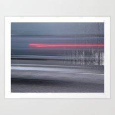 Velocity Art Print