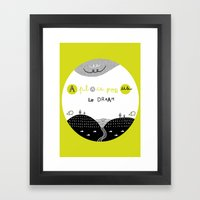 A Place for Us to DREAM Framed Art Print