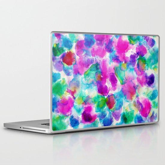 Amaris Magenta Laptop & iPad Skin