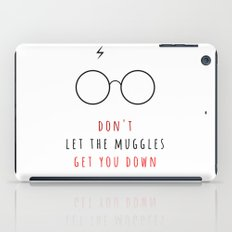 Don't Let The Muggles Ge… iPad Case