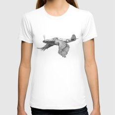In which it's a bird. It's a plane. Womens Fitted Tee White SMALL