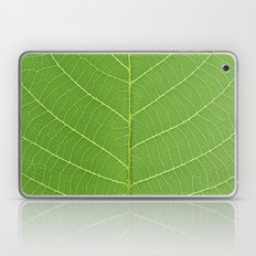 green leaf texture Laptop & iPad Skin