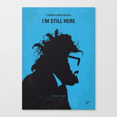 No637 My I am Still Here minimal movie poster Canvas Print