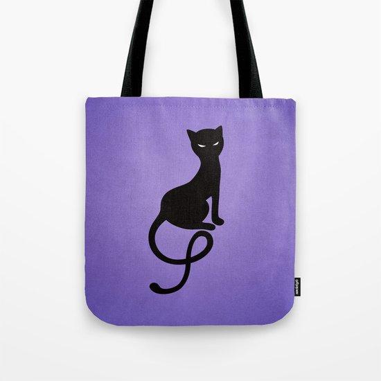 Gracious Evil Black Cat Tote Bag