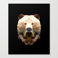 Polygon Heroes - The Lor… Canvas Print